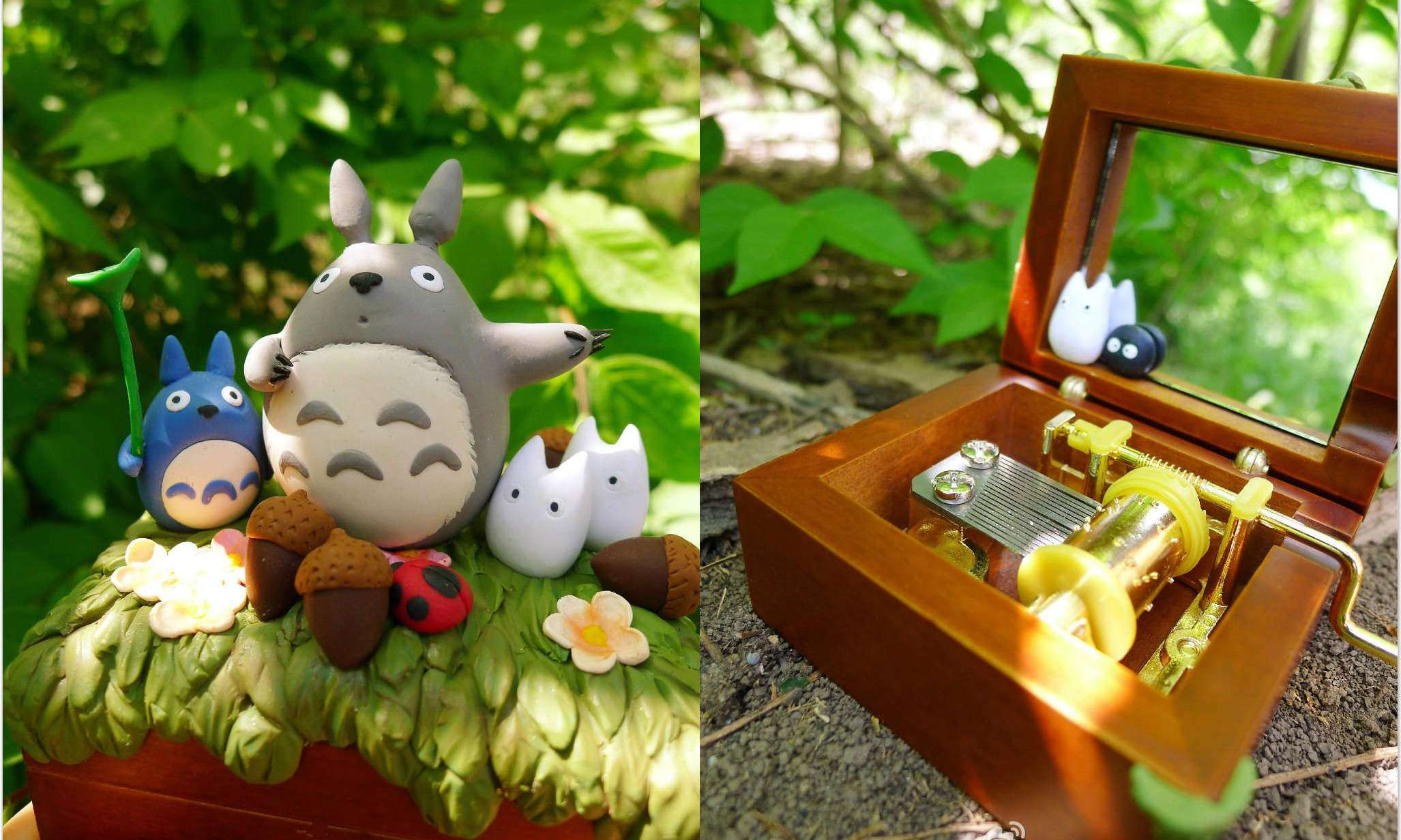 今天我们就奉上详细的软陶龙猫八音盒教程(多图),让这份亲手制作的