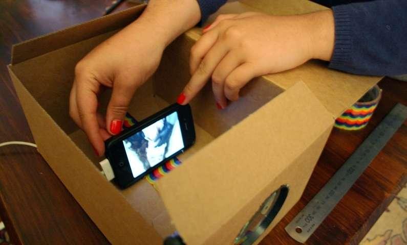 送得起的私家浪漫:简易DIY手机投影仪 10 - Sneapy