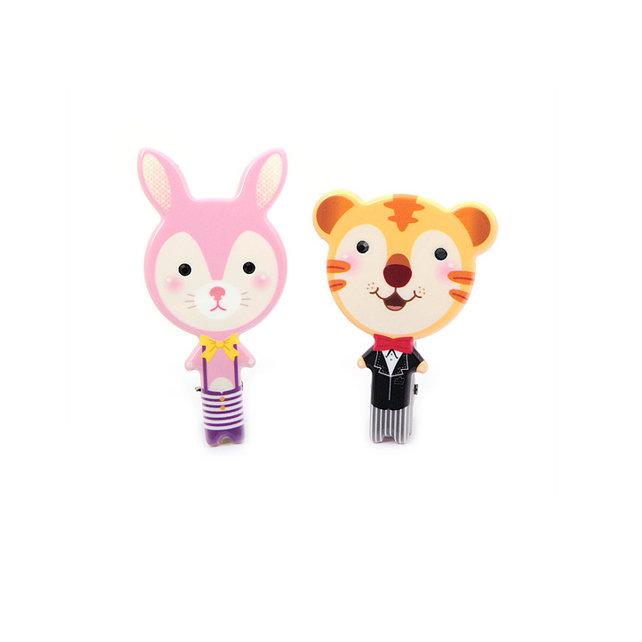 超级可爱的小动物边夹,萌萌哒造型特别的可爱,就连老虎都没有那么可怕